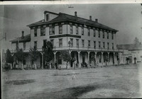 1878 Press Photo Exterior of Hotel California House built by W. C. Gray in 1878