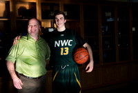 COACH RAY RICKS AND HIS SON RYAN, NORTHWEST CHRISTIAN SCHOOL