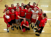 FERRIS BASEBALL TEAM SHAVED HEADS