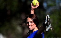 BRE BURKE, COEUR D'ALENE HIGH SCHOOL PITCHER