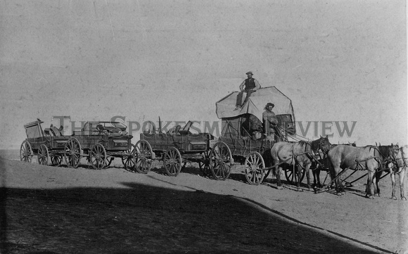 OVERLAND FREIGHT 1887