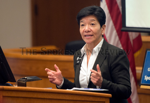 JUSTICE MARY YU SPEAKS AT IMMIGRANT LEGAL WORKSHOP