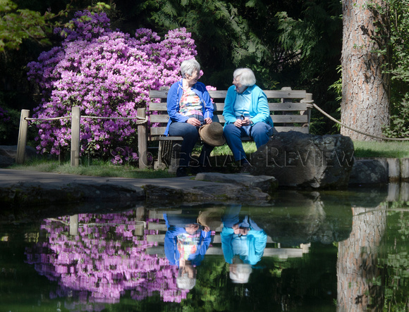 ROSIE OLSEN AND JUNE SHAPIRO IN MANITO PARK