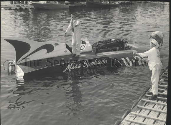 MISS SPOKANE & DOCK
