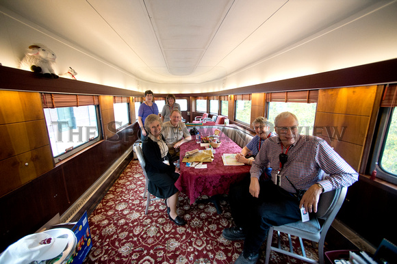 HISTORIC TRAIN CARS 8