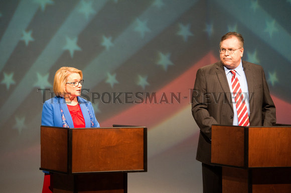 LYNETTE VEHRS AND MIKE VOLZ DEBATE