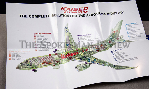 AIRPLANE PARTS SUPPLIED BY KAISER ALUMINUM