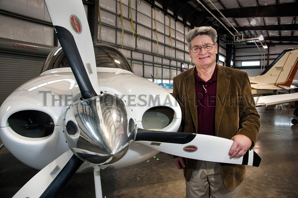RICK HARBER IS A LOCAL FLYING LEGEND